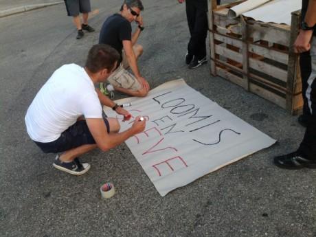 Les grévistes de chez Loomis - LyonMag