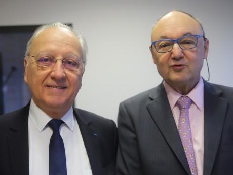 Marc Grivel et Gérard Angel - LyonMag