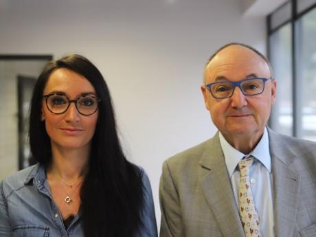 Pauline Grosjean et Gérard Angel - LyonMag