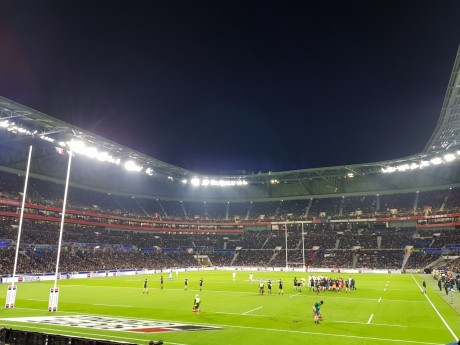 Le Groupama Stadium en mode rugby lors de la venue des All Blacks - LyonMag