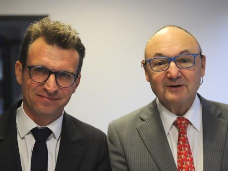 Stéphane Guilland et Gérard Angel - LyonMag
