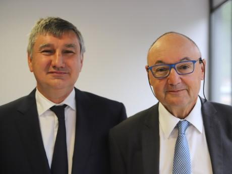 Christophe Guilloteau et Gérard Angel - LyonMag
