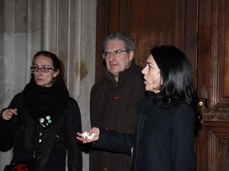 Aline Guitard, Armand Creus et Nathalie Perrin-Gilbert - LyonMag