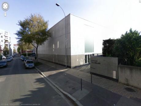 Le gymnase Jean Mollier - DR Google Maps