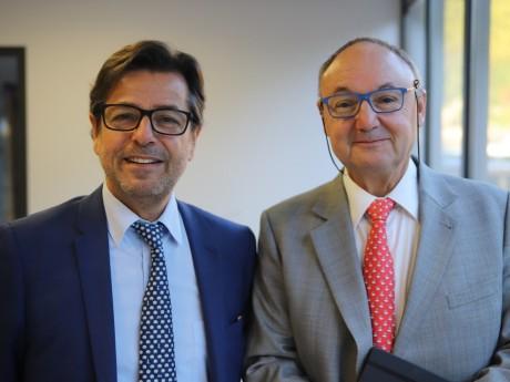 Emmanuel Hamelin et Gérard Angel - LyonMag