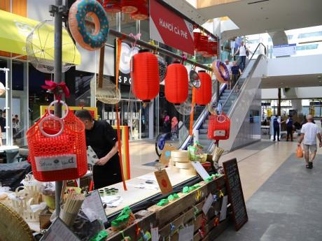 Un des stands présent à l'intérieur du centre commercial - LyonMag