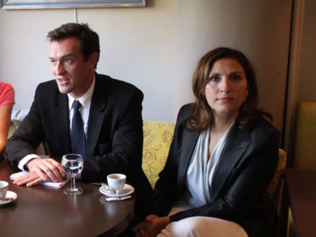 Michel Havard et Nora Berra - LyonMag