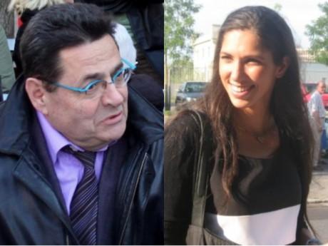 Jean-Paul Bret (à gauche) et Emmanuelle Haziza (à droite) -  photo montage Lyonmag