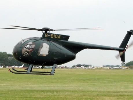 Un hélicoptère Hugues 500 - DR