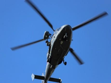 Un hélicoptère a été mobilisée toute la journée de jeudi - LyonMag