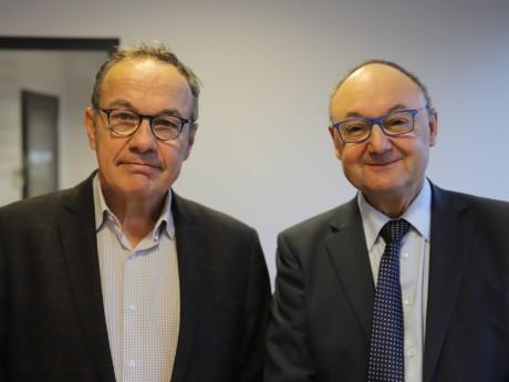 Pierre Hémon et Gérard Angel - LyonMag