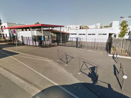 La manifestation passera notamment devant le collège Barbusse - DR Google Street View