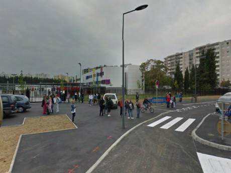 Le collège Henri-Barbusse - DR Google