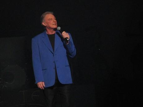 Herbert Leonard lors de la tournée Age Tendre - DR