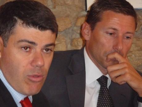 Mr Banbanaste et Me Cottet-Bretonnier - Photo LyonMag.com