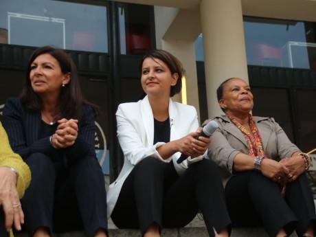 Anne Hidalgo, Najat Vallaud-Belkacem et Christiane Taubira - LyonMag