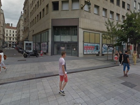 Anciens locaux d'H&M - Google street view DR