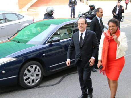 François Hollande était à Vaulx-en-Velin ce mardi matin - LyonMag.com