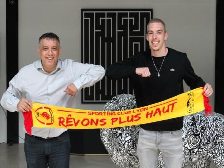 Mohamed Tria, Président du SC Lyon, et Ivann Botella- Thomas Hernu/Sporting Club de Lyon