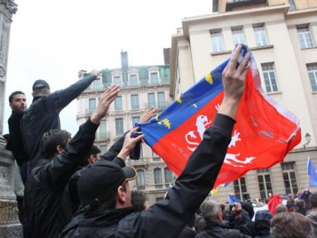 Les identitaires lyonnais - Photo LyonMag