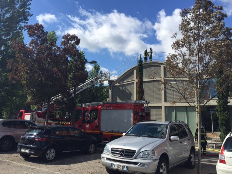 Le restaurant le Selcius bouclé par les pompiers