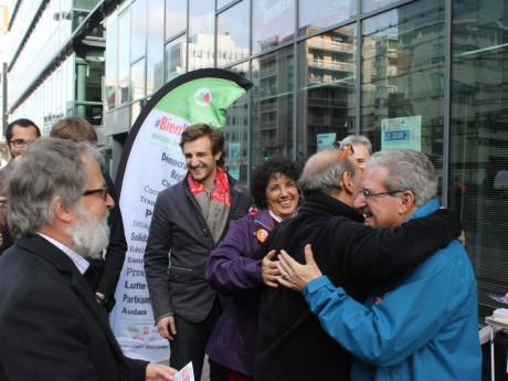 Les militants heureux de quitter la zone de désespoir - LyonMag