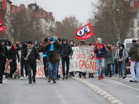 Le cortège de mercredi dernier à Lyon - LyonMag