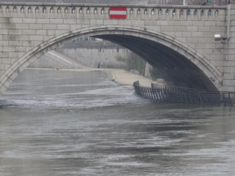 La Saône ce mardi - LyonMag