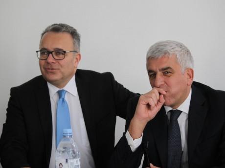Denis Broliquier et Hervé Morin - LyonMag