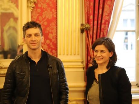 Eric Massé et Angélique Clairand- LyonMag