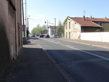 L'avenue Aristide-Briand où s'est déroulée la rixe - LyonMag