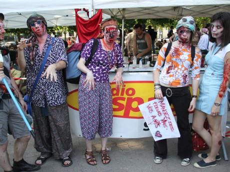 La 9e édition de la Zombie Walk ce samedi à Lyon - LyonMag