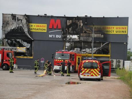 Le MDA de Saint-Priest partiellement ravagé par les flammes - LyonMag