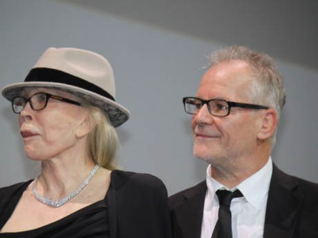 Faye Dunaway et Thierry Frémaux - LyonMag