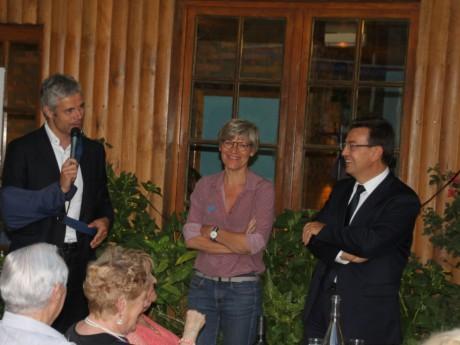 Laurent Wauquiez avec Philippe Cochet jeudi - LyonMag