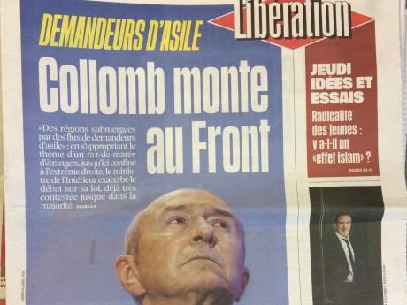 La Une de Libération ce jeudi - LyonMag