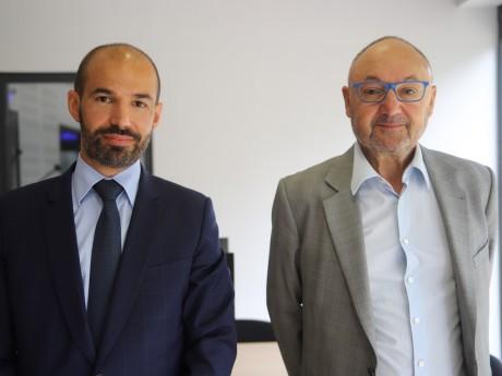 Sébastien Michel et Gérard Angel - LyonMag.com