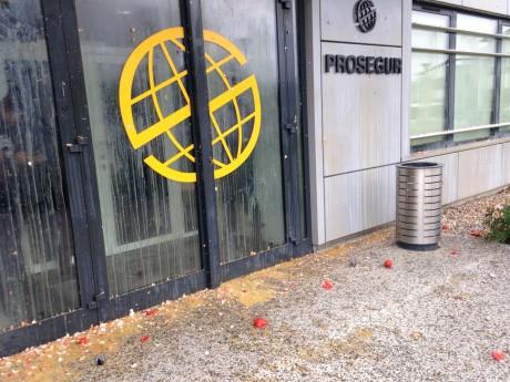 Le site de Saint-Priest avait été la cible de jets d'oeufs et de tomates - LyonMag