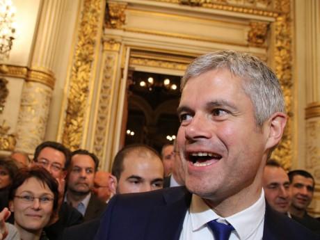 Laurent Wauquiez a laissé éclater sa joie à la préfecture - LyonMag