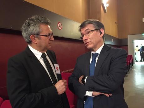 Eric Moreno (à gauche) et Emmanuel Barbe (à droite) - LyonMag