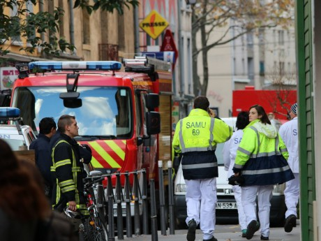 De nombreux pompiers sont intervenus grande rue de la Guillotière - LyonMag