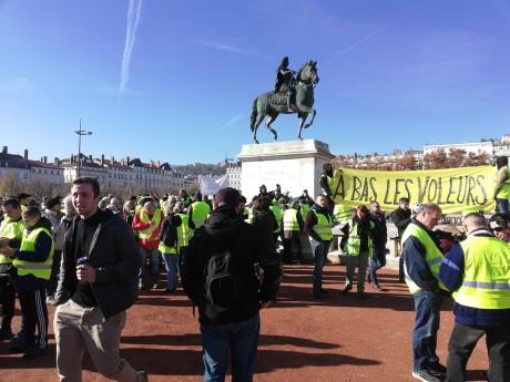 Photo du mouvement place Bellecour - LyonMag.com