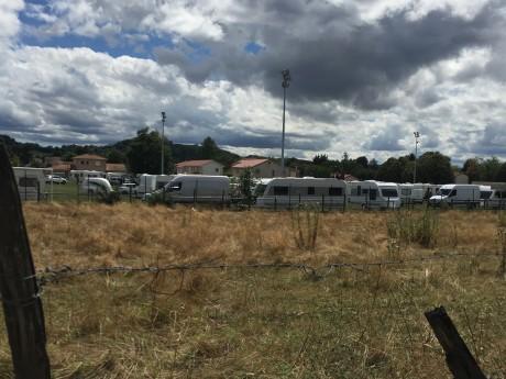 Près de 150 caravanes installées à Toussieu - LyonMag