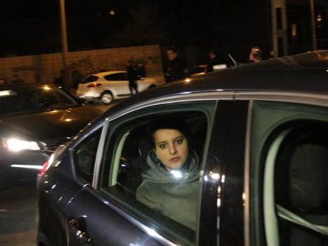 Najat Vallaud-Belkacem arrive au lycée - LyonMag