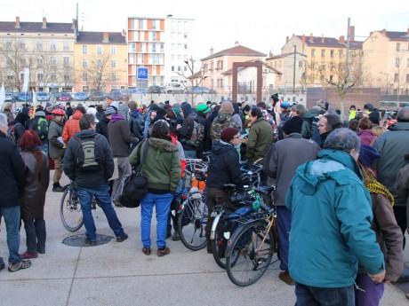 Le rassemblement à Oullins - LyonMag