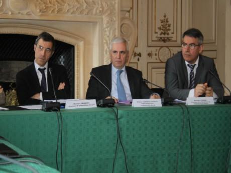 Marc Cimamonti, Jean-Pierre Cazenave-Lacrouts et Olivier Etienne - LyonMag.com