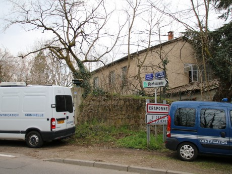 Le domicile du couple, à la frontière avec Saint-Genis-les-Ollières - LyonMag