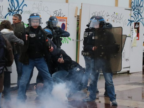 Des interpellations lors de la manifestation - LyonMag