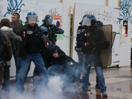 Interpellation lors de la manifestation de mercredi - LyonMag