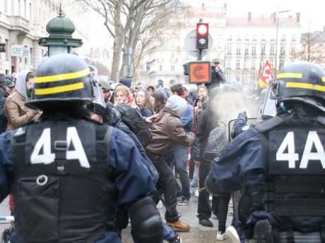 Les affrontements de mercredi - LyonMag